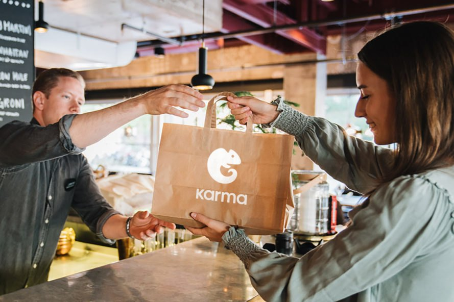 Mobile app Karma tackles food waste with discounted meals