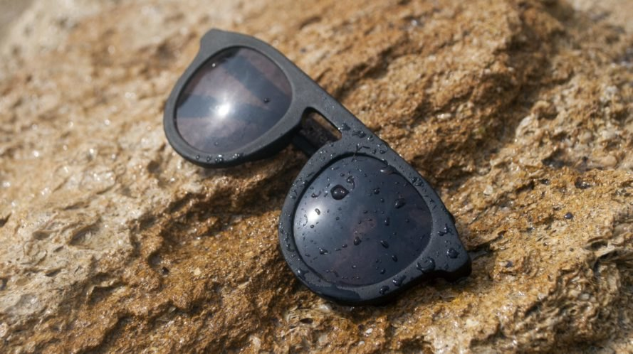 These sustainable sunglasses smell like coffee and decompose into fertilizer
