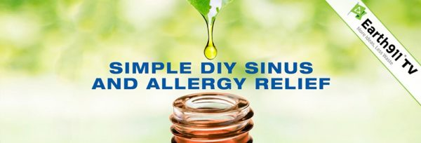 Earth911TV: DIY Sinus & Allergy Relief